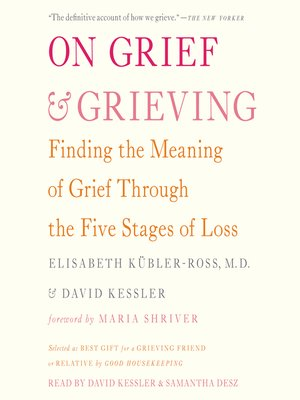 cover image of On Grief and Grieving