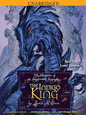 cover image of The Indigo King