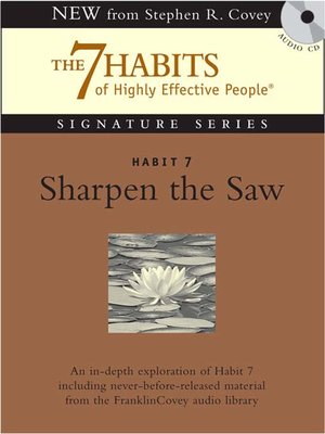 cover image of Habit 7 Sharpen the Saw