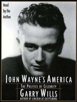 cover image of John Wayne's America