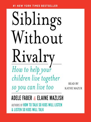 cover image of Siblings Without Rivalry