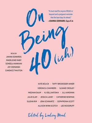 cover image of On Being 40(ish)