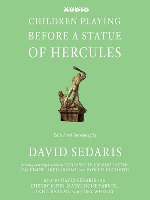 cover image of Children Playing Before a Statue of Hercules