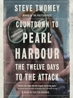 cover image of Countdown to Pearl Harbor