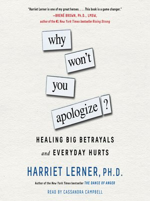 cover image of Why Won't You Apologize?