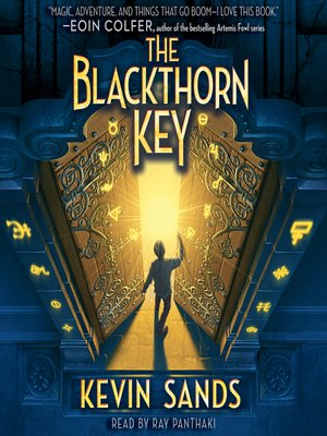 cover image of The Blackthorn Key