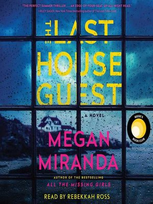 cover image of The Last House Guest