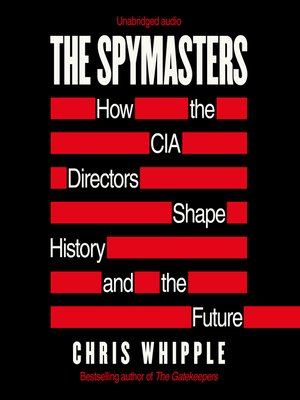 cover image of The Spymasters