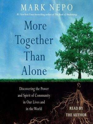 cover image of More Together Than Alone