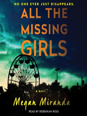 cover image of All the Missing Girls