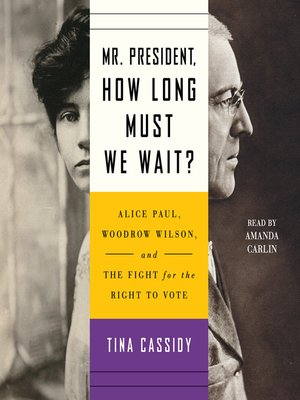cover image of Mr. President, How Long Must We Wait?
