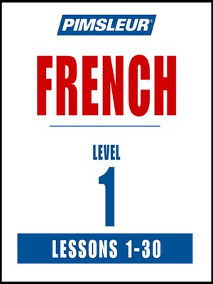 cover image of Pimsleur French Level 1 MP3