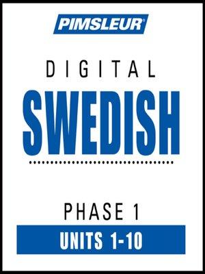 cover image of Swedish Phase 1, Units 1-10