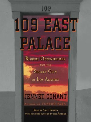 cover image of 109 East Palace