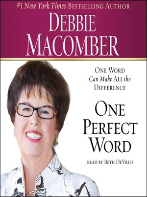 cover image of One Perfect Word