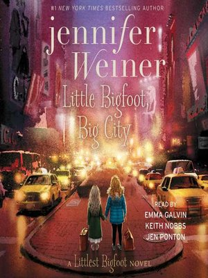 cover image of Little Bigfoot, Big City