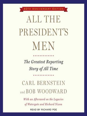 cover image of All the President's Men