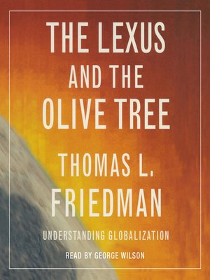cover image of The Lexus and the Olive Tree