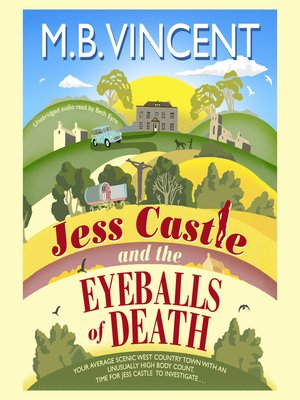 cover image of Jess Castle and the Eyeballs of Death