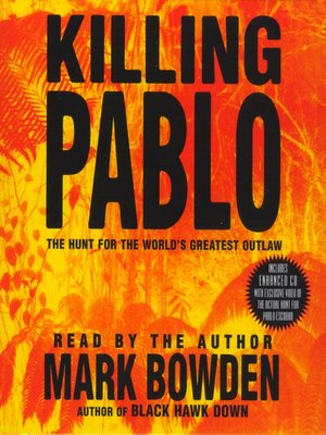 cover image of Killing Pablo