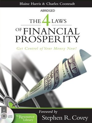 cover image of The 4 Laws of Financial Prosperity