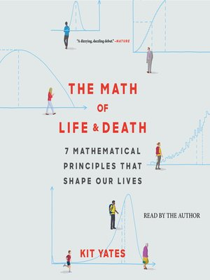 cover image of The Math of Life and Death
