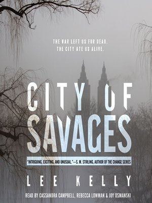 cover image of City of Savages