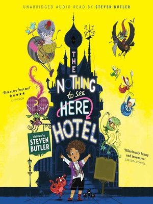 cover image of The Nothing to See Here Hotel