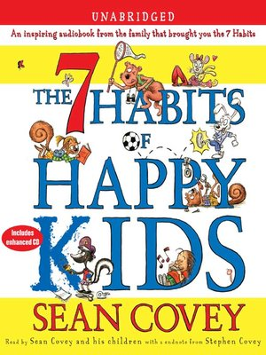 cover image of The 7 Habits of Happy Kids