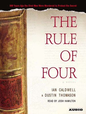 cover image of The Rule of Four