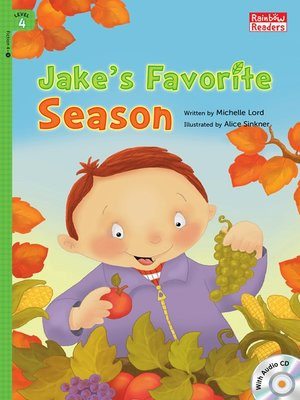 cover image of Jake's Favorite Season