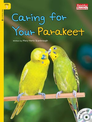 cover image of Caring for Your Parakeet