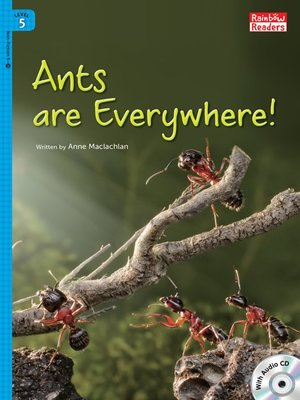 cover image of Ants are Everywhere!