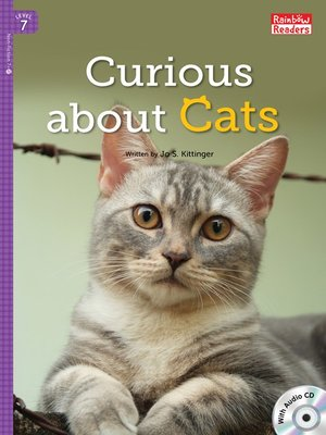 cover image of Curious about Cats