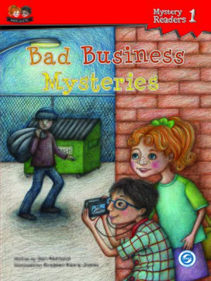 cover image of Bad Business Mysteries