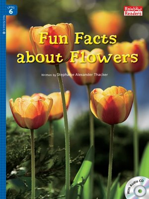 cover image of Fun Facts about Flowers