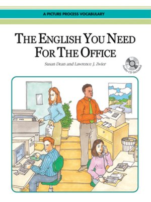 cover image of The English You Need for the Office