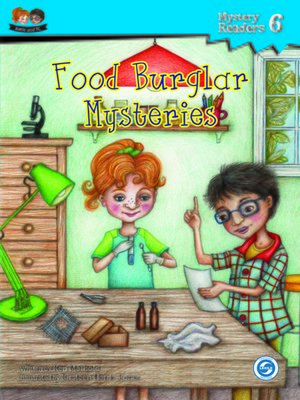 cover image of Food Burglar Mysteries