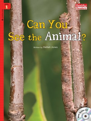 cover image of Can You See the Animal?