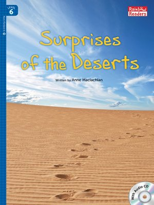 cover image of Surprises of the Deserts