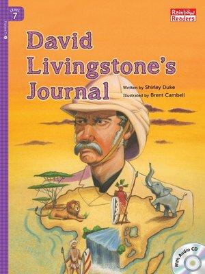 cover image of David Livingstone's Journal