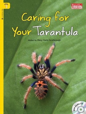 cover image of Caring for Your Tarantula