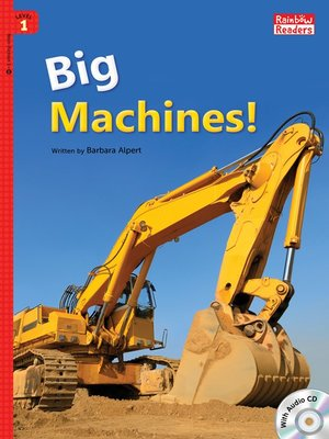 cover image of Big Machines!