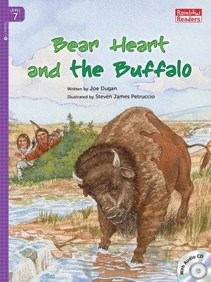 cover image of Bear Heart and the Buffalo