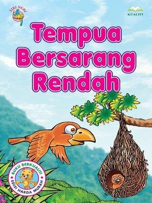 cover image of Tempua Bersarang Rendah