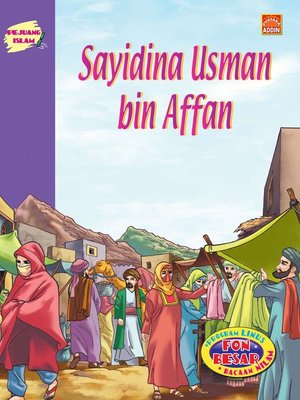 cover image of Sayidina Usman Bin Affan
