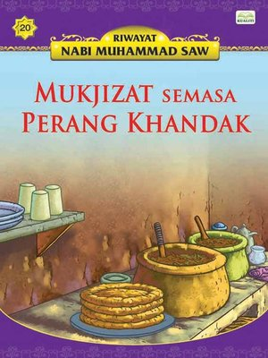 cover image of MukjizatSemasaPerangKhandak