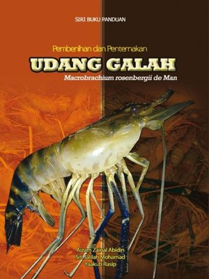 cover image of Pembenihan dan Penternakan Udang Glah Macrobracum Rosenbergii De Man
