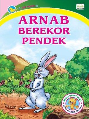 cover image of Arnab Berekor Pendek
