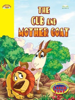 cover image of The Cub And Mother Goat